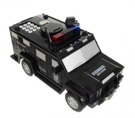 Pokladnička policajné autíčko