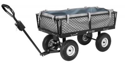 Záhradný vozík s výklopnými bokmi nosnosť 600 Kg