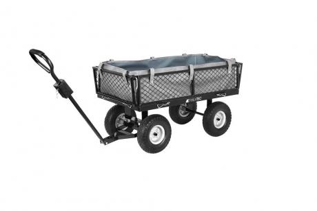 Záhradný vozík s výklopnými bokmi s nosnosťou 350 kg