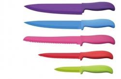 Sada 5 kuchynských nerezových nožov