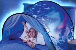 Rozprávkový stan na posteľ