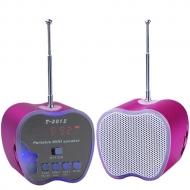 Mini prenosný reproduktor so vstavaným FM rádiom