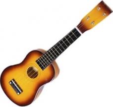 Detská drevená gitara malá