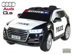 Elektrické autíčko SUV Audi Q5 NEW Polícia