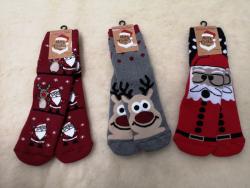 Krásne dámske Vianočné ponožky 2ks