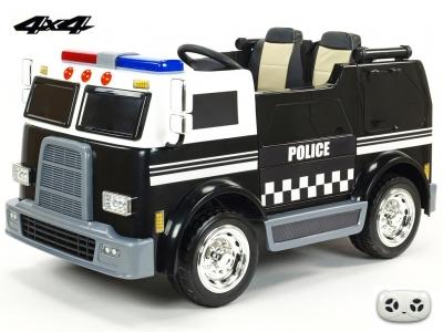 Dvojmiestny USA policajný bus 4x4 s 2,4G diaľkovým ovládaním