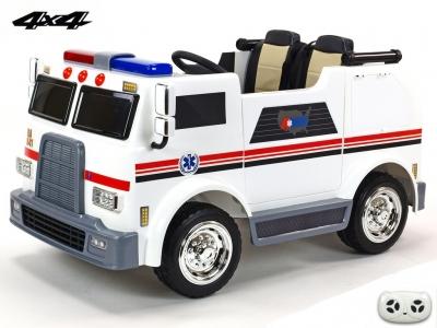 Dvojmiestny USA sanitný bus - ambulancia 4x4 s 2,4G diaľkovým ovládaním