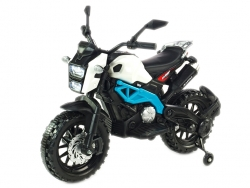 Elektrická motorka terénna Lion s plynovou rukoväťou a nožnou brzdou