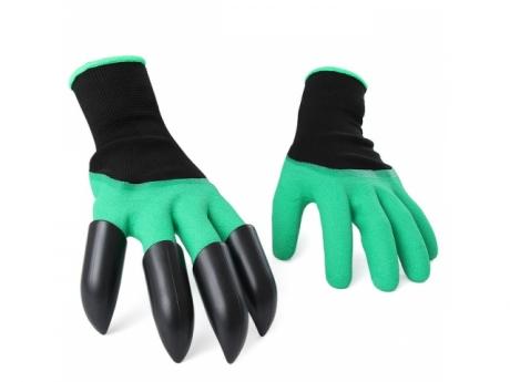 Záhradné rukavice s pazúrikmi
