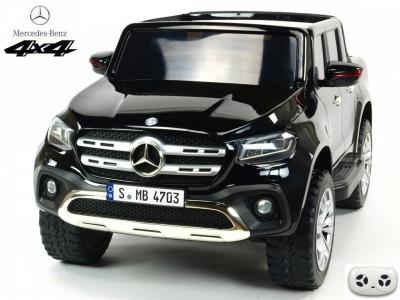 Mercedes - Benz X-Class 4x4, dvojmiestny pick up s 2.4G DO, plynulým rozjazdom, USB, čalúnením, EVA kolesami