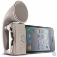 Zosilovač zvuku na iPhone 4 - Horn Stand