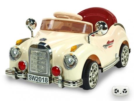 Elektrické autíčko Kuba retro mini