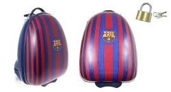 Detský kufor na kolieskach FC Barcelona