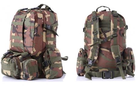 Vojenský batoh 4v1 XXXL