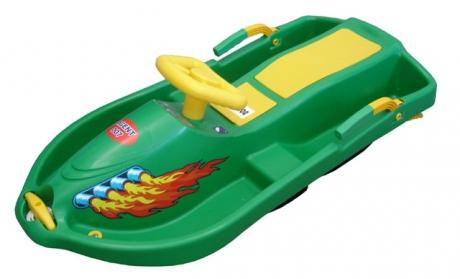 Boby s volantom Snow Boat