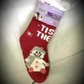 Ovčie thermo ponožky s vianočnými motívmi unisex