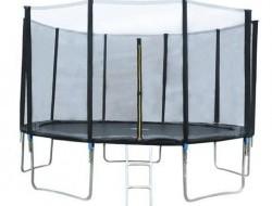 Trampolína 366 cm + sieť + rebrík