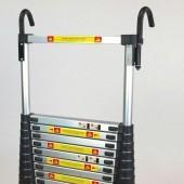 Teleskopický alu rebrík 4,4m s prepravnou taškou 94/440