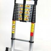 Teleskopický alu rebrík 5m s prepravnou taškou 106/500