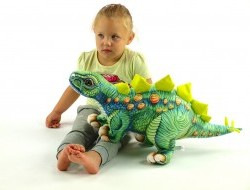 Plyšový dinosaurus Stegosaurus