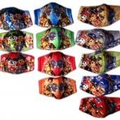 Detské 3-vrstvové rúško s rozprávkovým motívom