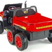 Detské elektrické autíčko Kipper s výklopnou korbou 4x 200W