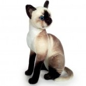 Plyšová mačka Micka siamská
