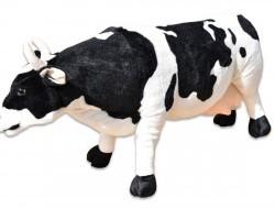 Plyšová stojaca krava dĺžka 84cm