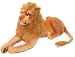 Plyšový ležiaci lev, dĺžka 178cm