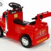 Elektrické autíčko náklaďiak s funkčným žeriavom