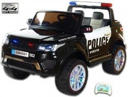 Elektrické SUV Rover polícia, 4x4, dvojmiestny