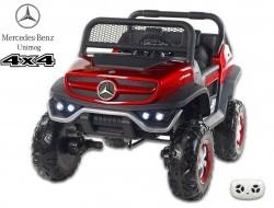 Elektrické autíčko džíp Mercedes Benz Unimog, dvojmiestny