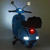 Elektrický skúter Piaggio Vespa PX150 biela a modrá