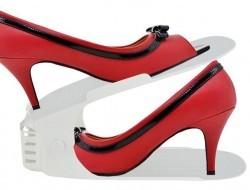 Organizér na topánky biely