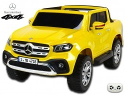 Mercedes Benz X-Class 4x4, dvojmiestny pick up