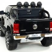 Dvojmiestny Volkswagen Amarok 4x4 náhon všetkých EVA kolies, 2,4G DO, USB, TF, otváracími dverami, kapotou, čelom, 2xbatéria, lakovaný