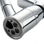 Drezová páková batéria s vyťahovacou sprchou