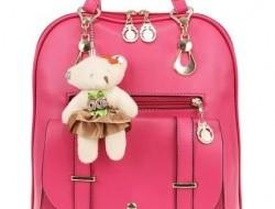 Dámsky batoh s plyšovým medvedíkom