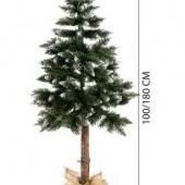 Umelý vianočný stromček - borovica strieborná 180 cm