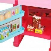Detská veľká kuchynka s chladničkou a rúrou