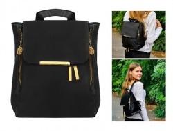 Dámsky čierny batoh