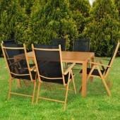 Kvalitný záhradný nabytok 6 + 1