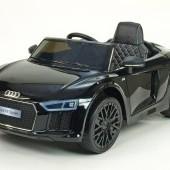 Audi R8 Spyder s 2.4G DO, EVA kolesami, otváracími dverami, LED osvetlením, FM, bluetooth, čalúnenou sedačkou, lakované