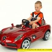 Elektrické autíčko Mercedes-Benz SLR Mc Laren Stirling Moss