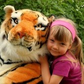 Tiger ležiaci 200cm