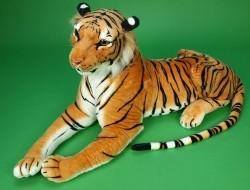Tiger ležiaci 170cm oranžový