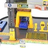 Štvorpodlažné parkovisko + 6 áut