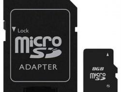 Micro SDHC karta s adaptérom - 8 GB alebo 16 GB