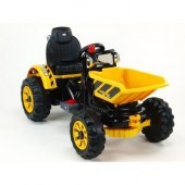 Elektrický traktor Kingdom s výklopnou korbou
