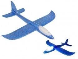 Svietiace penové hádzacie lietadlo 37cm